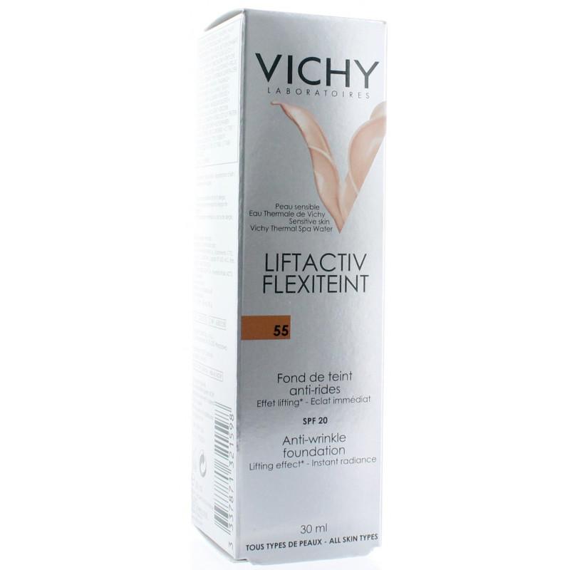 Vichy Liftactiv Flexiteint Fond de Teint Anti-rides 55 SPF20 30ml