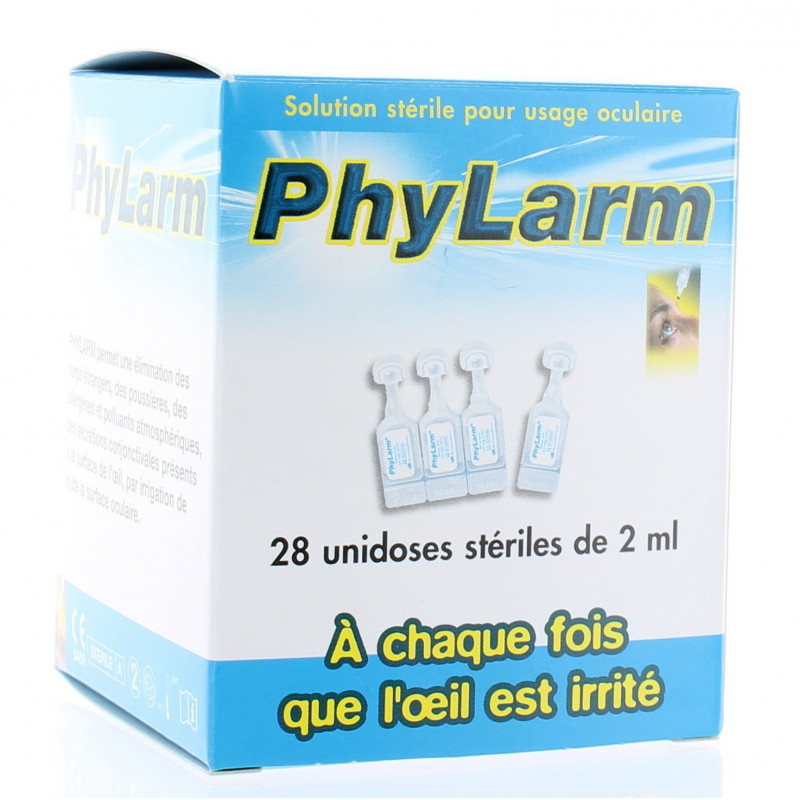 PHYLARM SOLUTION OCULAIRE FLACON 2ML 28