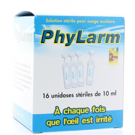 Phylarm Solution Ophtalmique 16 X 10 ml