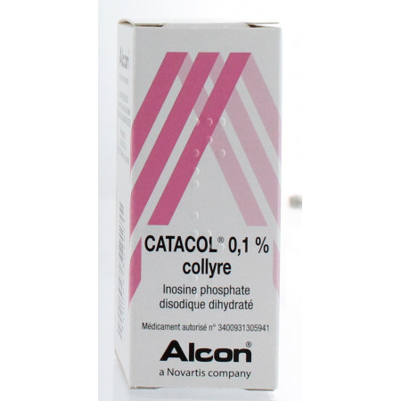 Catacol 0,1% Collyre 10 ml