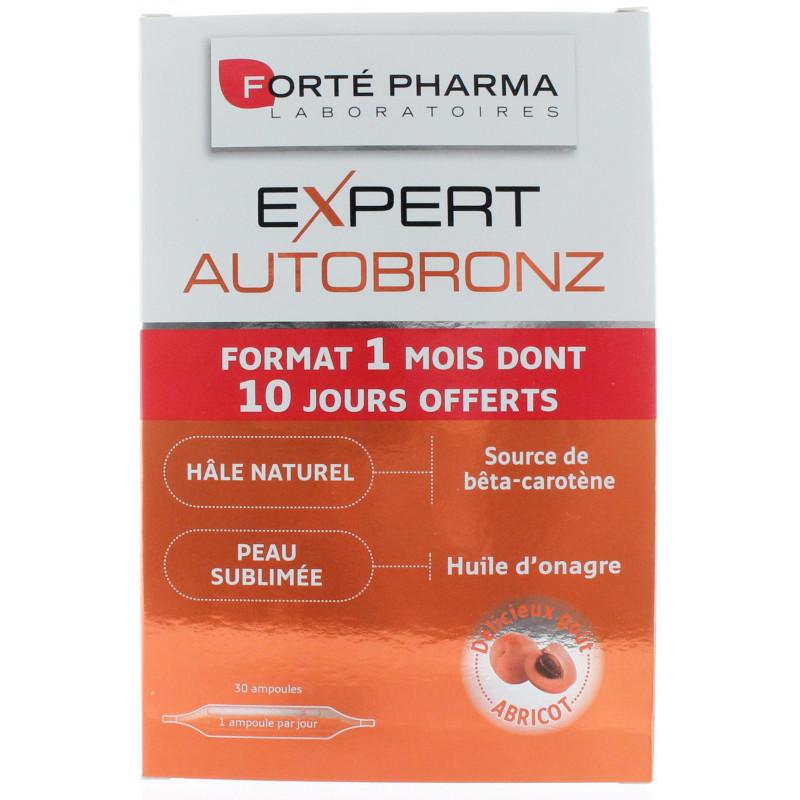 Expert Autobronz Forté Pharma 30 ampoules