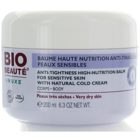 BIO BEAUTE BAUME CORPS HAUTE NUTRITION ANTI-TIRAILLEMENTS POT 200ML