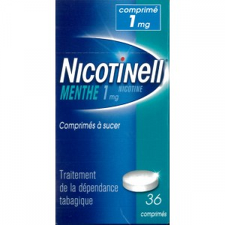 Nicotinell 1 mg Menthe 36 comprimés