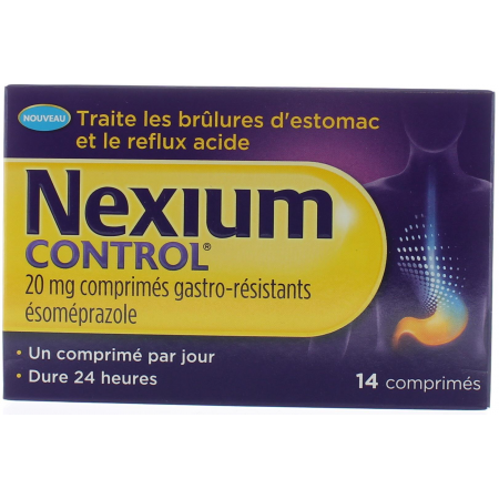 NEXIUM CONTROL 20MG X14