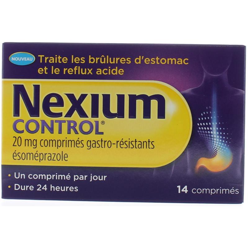 Nexium Control 20mg 14 comprimés
