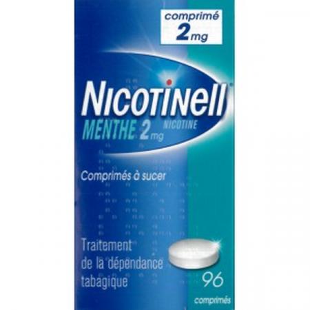 Nicotinell 2 mg Menthe 96 comprimés à sucer