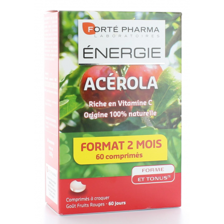 FORTE PHARMA ENERGIE ACEROLA VITAMINE C 60 COMPRIMES