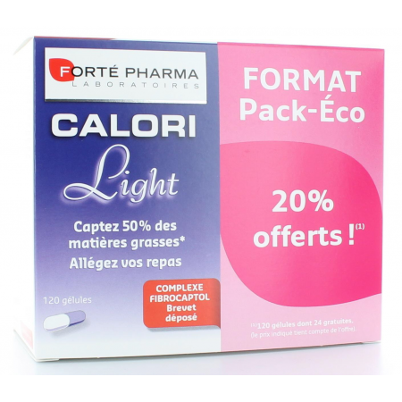 FORTE PHARMA CALORI LIGHT PACK ECO 120 GELULES - PROMO 20% OFFERTS