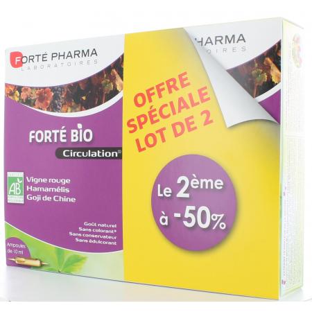 Forté Bio Circulation Forté Pharma 2X20 ampoules
