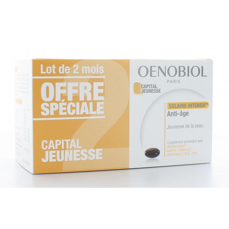 Oenobiol Solaire intensif Capital Jeunesse 2X30 capsules
