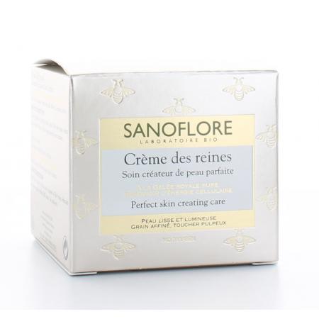 Sanoflore Crème des Reines Soin Créateur de Peau Parfaite 50ml