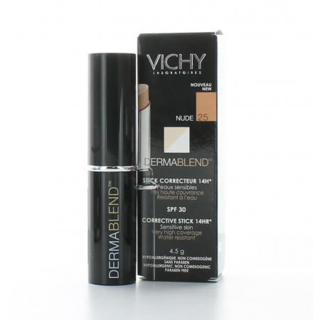 Vichy Dermablend Stick Correcteur 16H Nude 25 4,5g
