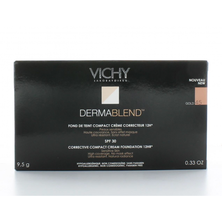 Fond de Teint Dermablend Covermatte Gold 45 Vichy