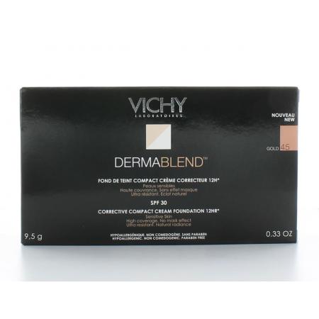 Vichy Dermablend Covermatte Fond de Teint Compact Gold 45