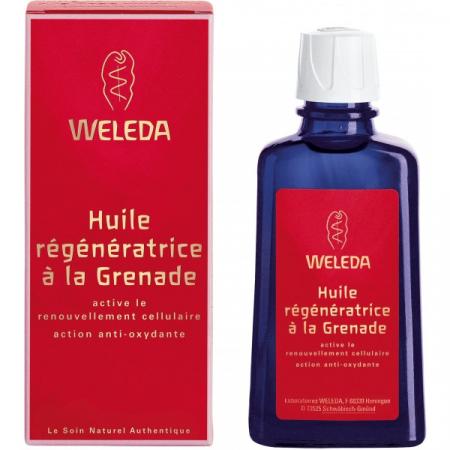 Huile Régénératrice Grenade Weleda 100 ml