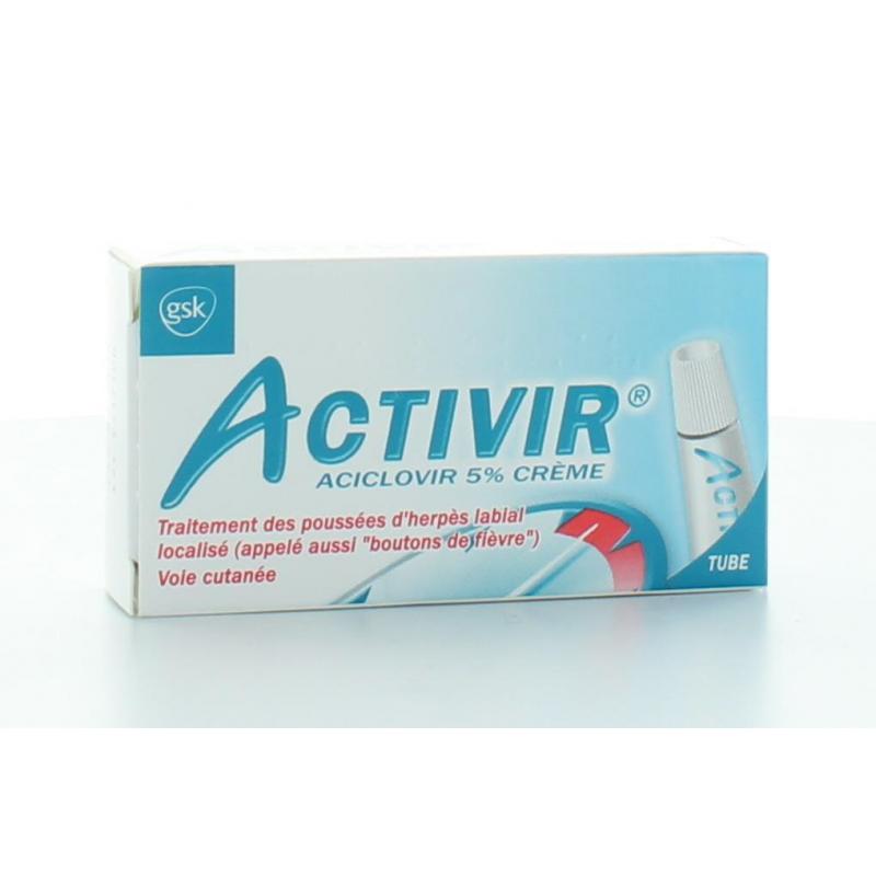 Activir 5% Crème 2 g