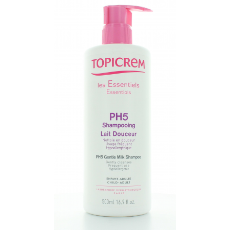 Shampooing Lait Douceur PH5 Topicrem 500ml