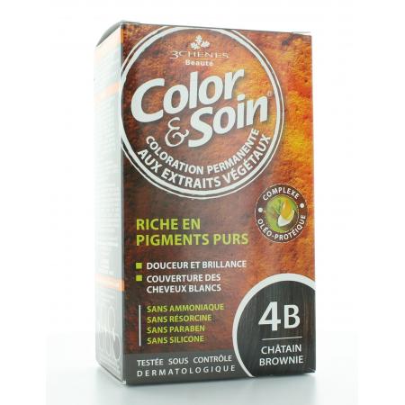 3 CHÊNES COLOR & SOIN 4B CHÄTAIN 135 ml