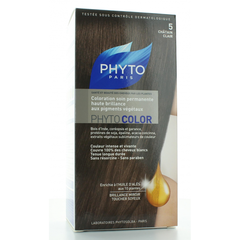 PHYTO COLOR 5 CHATAIN CLAIR
