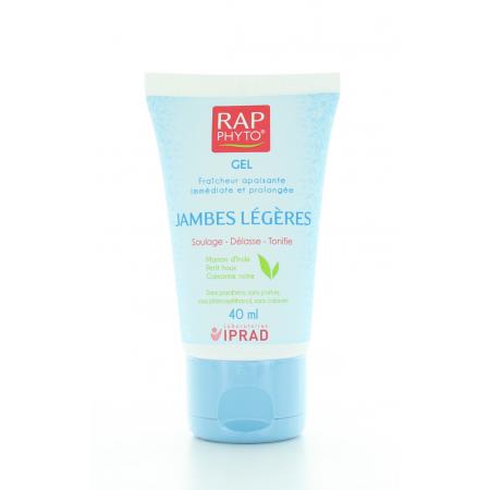 RAP PHYTO GEL JAMBES LEGERES 40 ml
