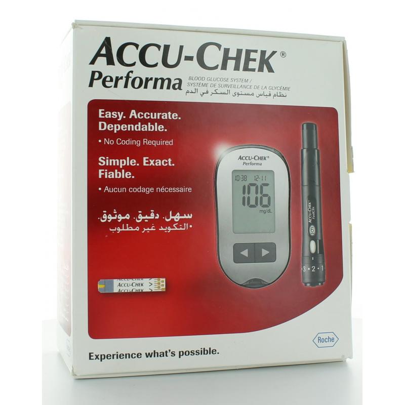 ACCU-CHEK PERFORMA SYSTEME DE SURVEILLANCE DE LA GLYCEMIE
