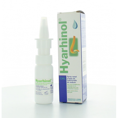 HYARHINOL SPRAY NASAL A BASE D'HYALURONATE DE SODIUM 15 ml