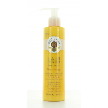 Lait Sorbet Bois d'Orange Roger&Gallet 200ml