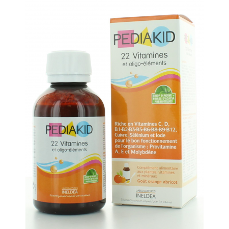 Pediakid 22 Vitamines et Oligo-éléments 125 ml