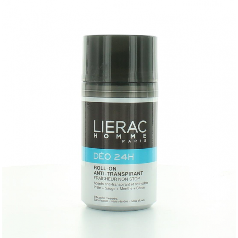 Lierac Homme Déo 24H Roll-on Anti-transpirant 50ml