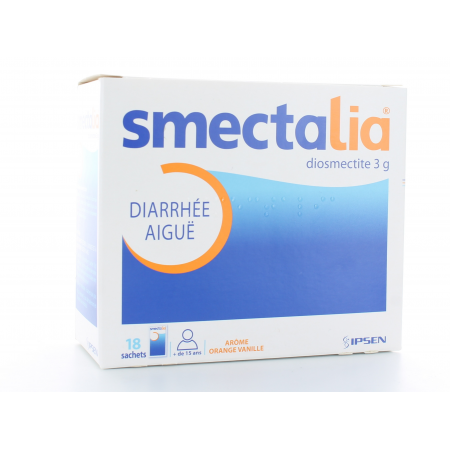 Smectalia Suspension buvable 18 sachets