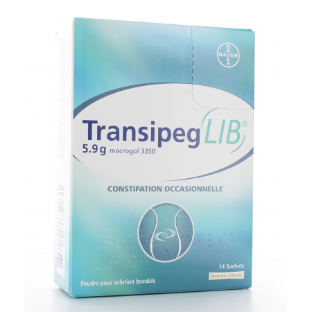 TransipegLib 5,9 g Solution Buvable 14 sachets