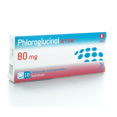 Phloroglucinol Arrow 80 mg 10 comprimés