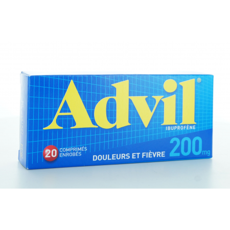 Advil 200 mg 20 comprimés