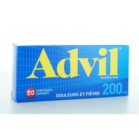 Advil 200 mg 20 comprimés