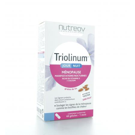 Triolinum Jour Nuit 60 gélules