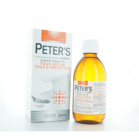 Peter's Sirop Adulte 250 ml
