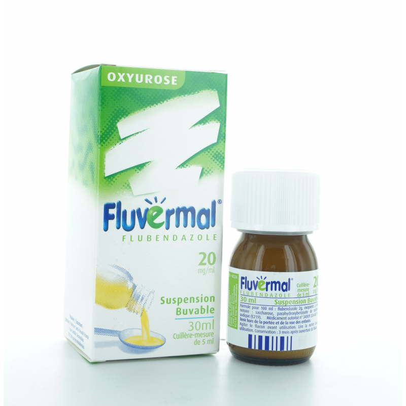 Fluvermal Suspension buvable 30 ml