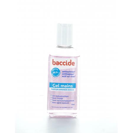 Baccide Gel Hydroalcoolique Parfum Amande Douce 75 ml