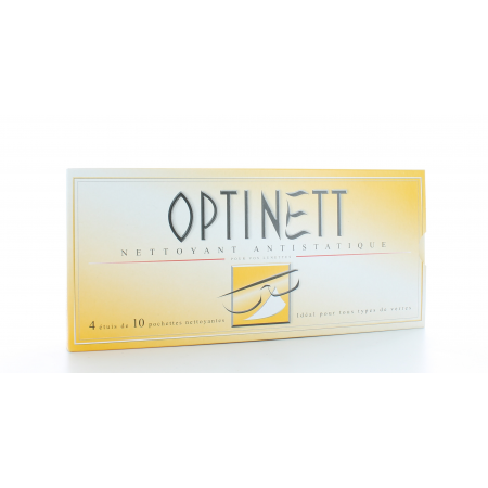 Optinett 4X10 lingettes nettoyantes Univers Pharmacie ec656fb9d247