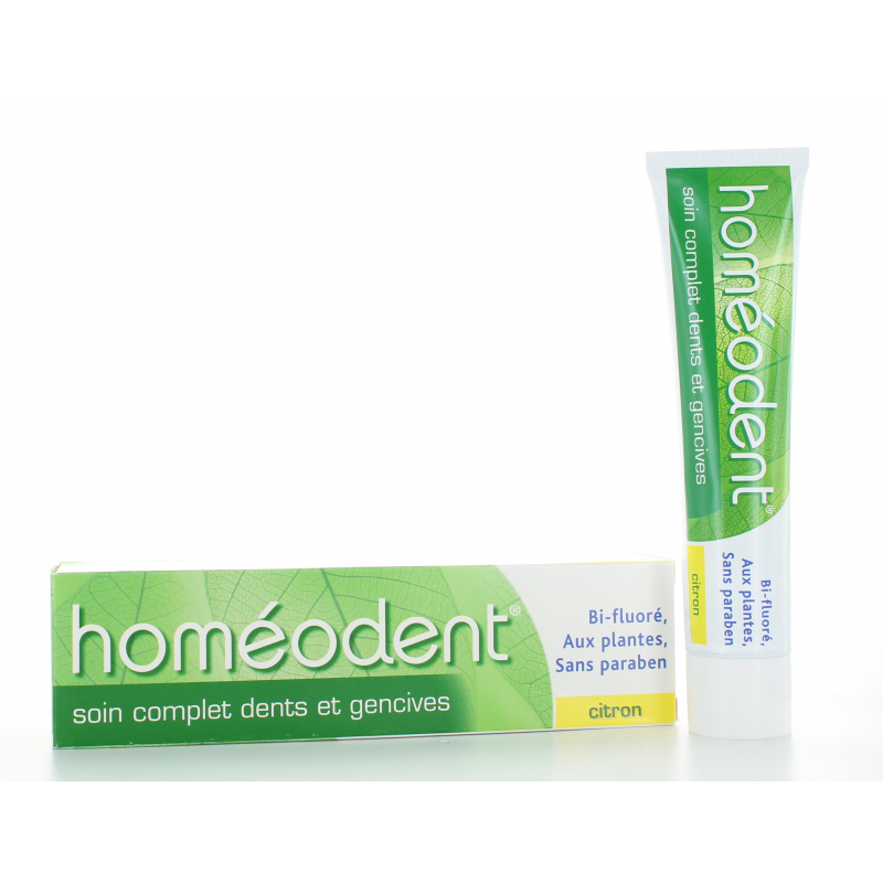 Homéodent Dentifrice Soin Complet Citron 75 ml