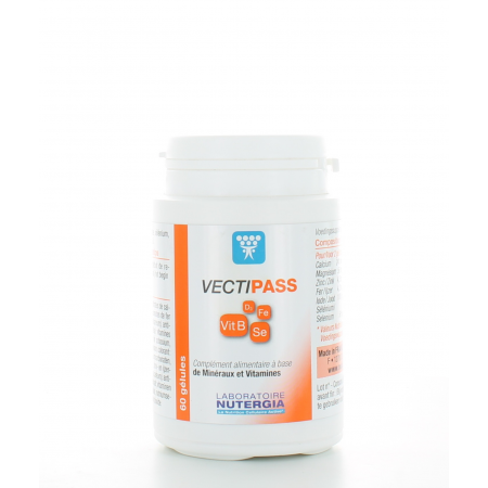 Nutergia VectiPass 60 gélules