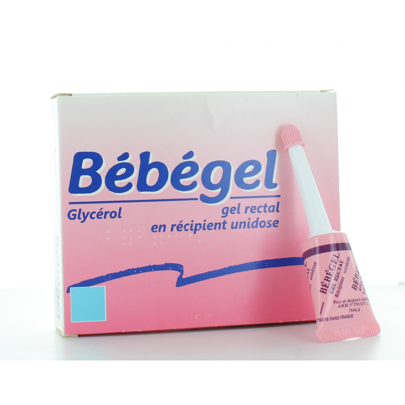 Bébégel Gel Rectal 6 unidoses