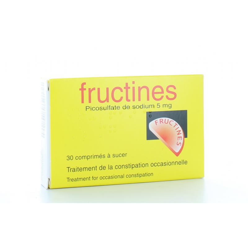 Fructines 5 mg 30 comprimés