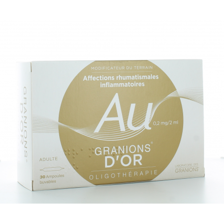Granions d'Or 0,2 mg/2 ml 30 ampoules