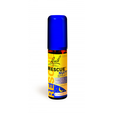 Rescue Nuit Spray Fleurs de Bach 20 ml