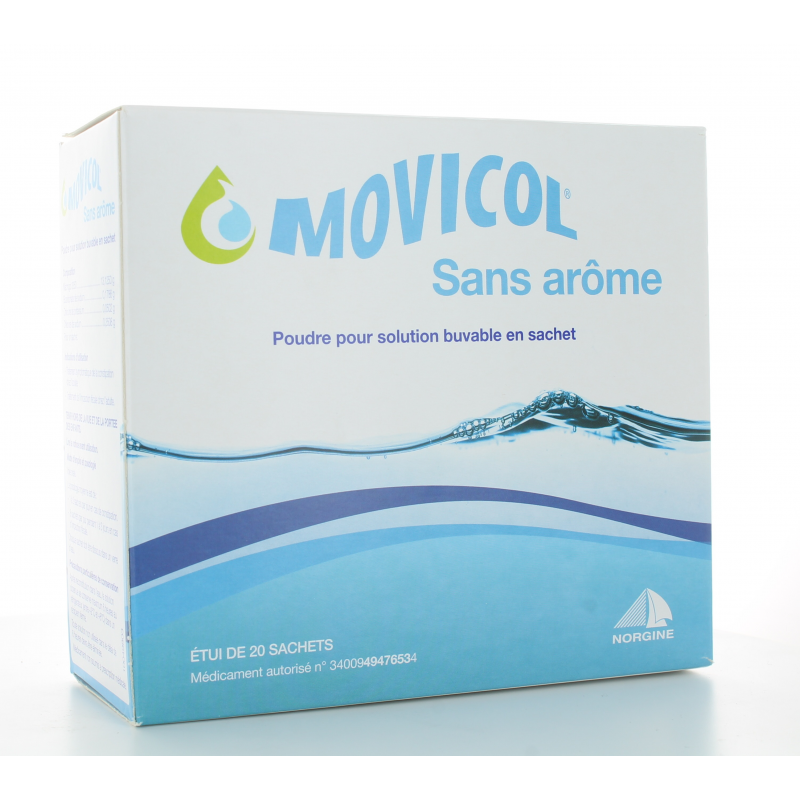 Movicol Solution Buvable sans arôme 20 sachets