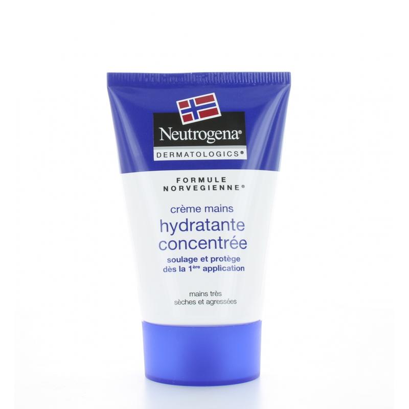 Crème Mains Hydratante Concentrée Formule Norvégienne Neutrogena 50 ml