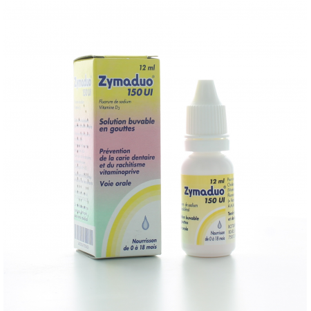 Zymaduo 150 UI Solution Buvable 12 ml