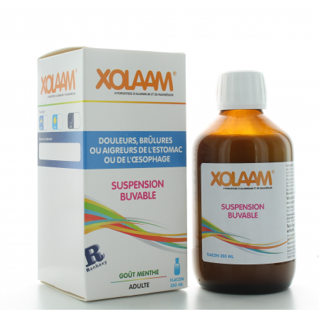 Xolaam Supsension Buvable Menthe 250 ml