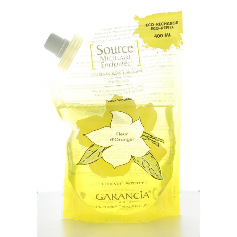 Garancia [Source Micellaire Enchantée] Recharge Eau Micellaire Fleur D'Oranger 400ml